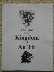 laws of an tir